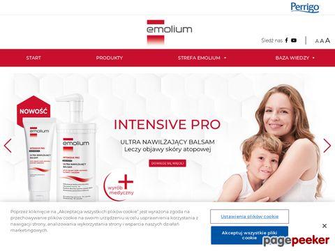 Atopowe zapalenie skóry u niemowlaka - emolium.pl