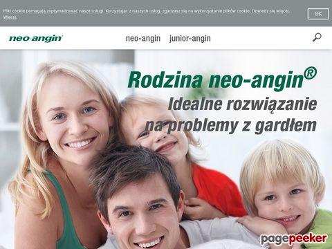 Ból gardła przy przełykaniu - www.neo-angin.pl