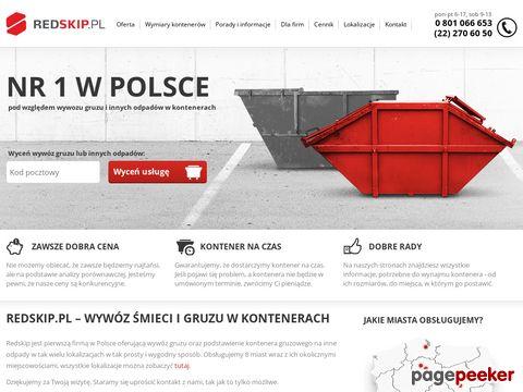 Redskip.pl - wywozimy gruz