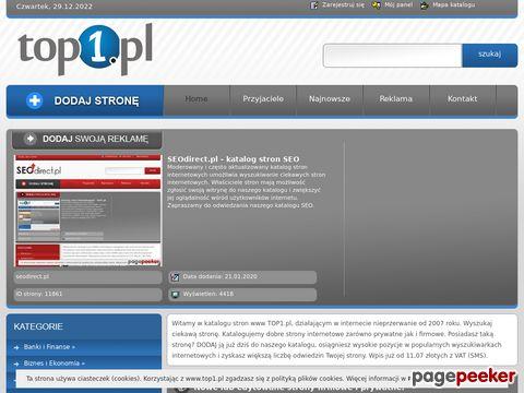 Katalog stron internetowych Top1.pl