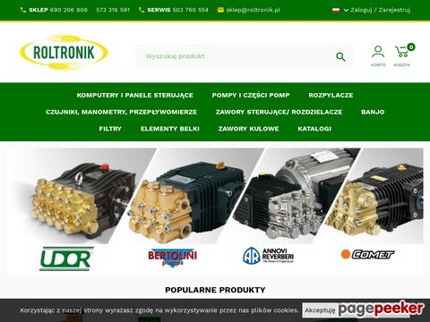 Roltronik.pl - rozpylacze ALBUZ